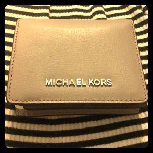 Light gray Michael Kors wallet